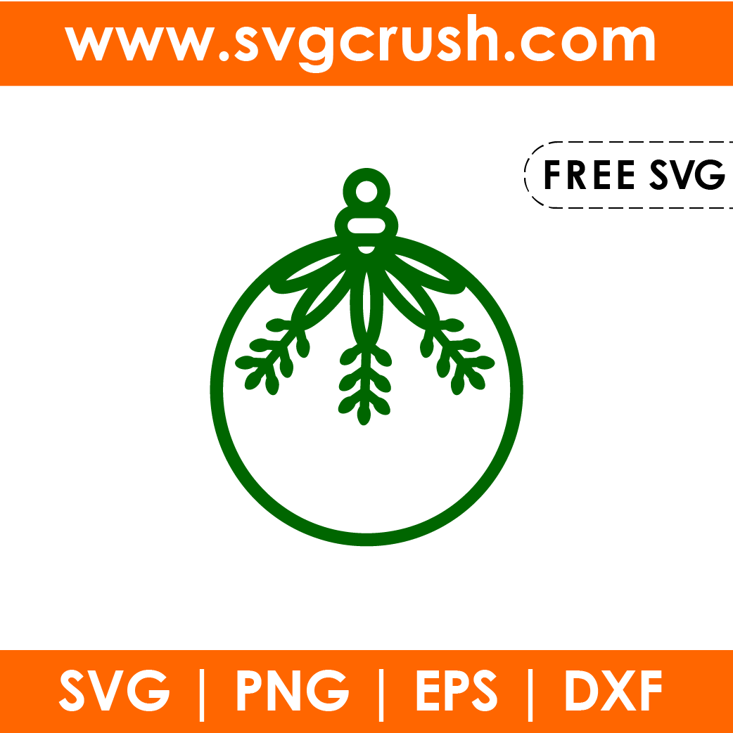 free christmas-ornaments-009 svg
