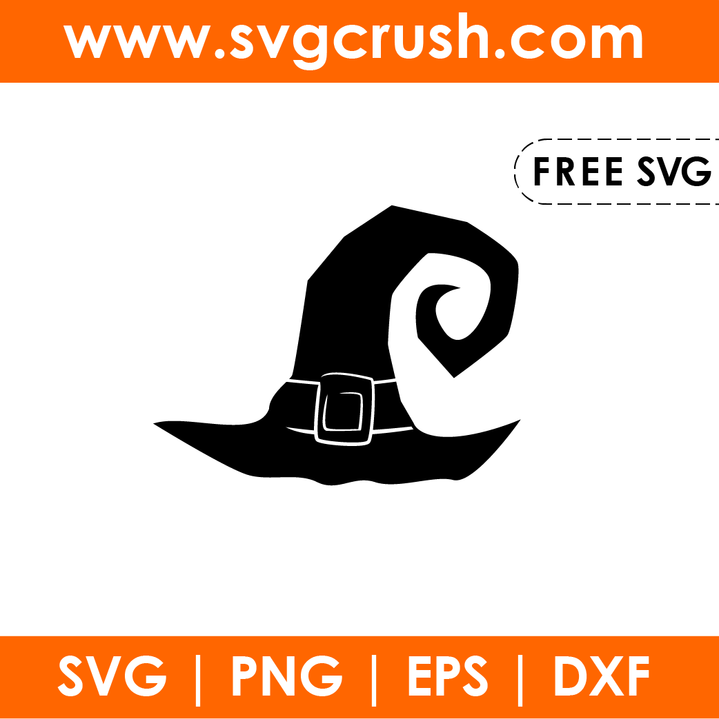 free witch-hat-003 svg